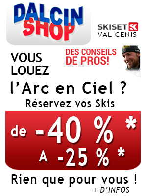 Arc en ciel Location ski Dalcin Shop2